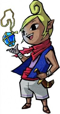 tetra and link wind waker - Google Search