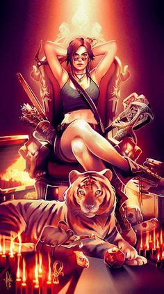 Image result for lara croft comics