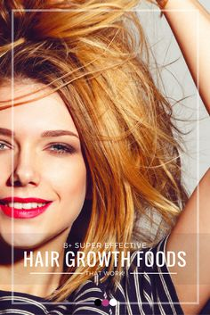 Time to pamper your hair the natural way this time with these hair growth foods that actually work wonders!