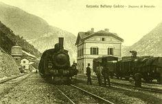La Ferrovia Belluno Calalzo, Italia