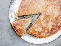 Veal and Pearl Onion B'Stilla (North African Meat Pie) via Saveur