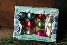 Vintage Christmas Ornaments wreath decor by PhoebesTreasureChest