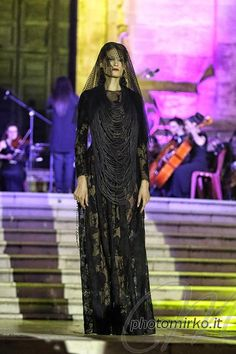 Outfit Michele Miglionico Haute Couture during Premio Moda Città dei Sassi - Matera