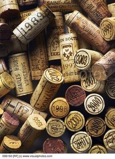 Corks From Vintage Wine Bottles | Stock Photos | Royalty Free | Royalty Free Photos
