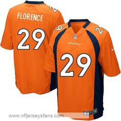 Drayton Florence jersey Men s Nike game Broncos Orange  cheap  Broncos  jerseys  Denver Broncos 519bb1fe3