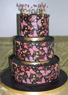 Cakes Pictures: butterflies