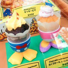 Desserts at Tokyo Disneyland