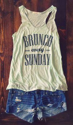 Brunch Every Sunday – Simply Taralynn Collection