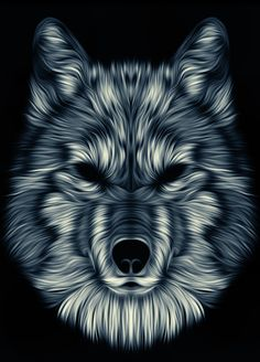 Wolf 4 by Patrick Seymour, via Behance