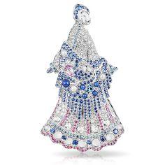 Брошь из коллекции Faberge, 2011 годLara a Talashkino