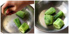 Bharwa Karela with Besan, Stuffed Karela Potato Sabji Recipe Veg Recipes, Curry Recipes, Vegetarian Recipes, Cooking Recipes, Gujarati Recipes, Indian Food Recipes, Potato Sabji, Appetizer Recipes, Dinner Recipes