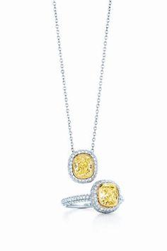 Tiffany yellow diamonds (Vogue.com UK)