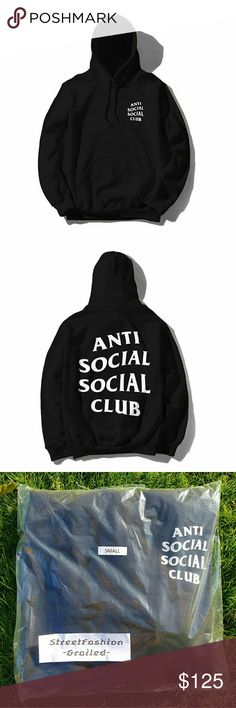 """ASSC """"Mind Games"""" Hoodie 100% Authentic Brand New DS Condition (Comes in original ASSC bag!)  Color - Small - X-Large Size - Black Immediate prority shipping (1 business day) and comes with USPS tracking Message us about bundle deals! All listed items are in stock and ready to ship! All items are guaranteed authentic by our personal team and we hold full responsibility for all items consigned/sold. If there are any problems we will gladly work with the buyer for either a quick return or…"""