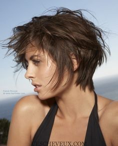 5 courts coupes pour cheveux épais et des visages ronds1 Plus