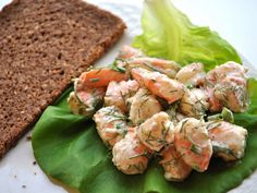 Known as Skagen salad in Swedish, this light shrimp salad makes a great open-faced sandwich.