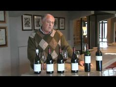 Neil Ellis tastes his 2007 Vineyard Selection Cabernet Sauvignon, made from grapes from the Jonkershoek Valley, which consistently show their high quality. Cabernet Sauvignon, Wines, The Selection, Vineyard, Bottle, Youtube, Flask, Jars, Youtube Movies