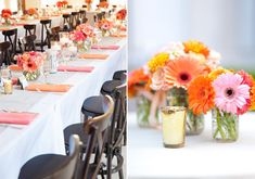 Colorful San Francisco wedding  | Photo by Julie Mikos | Read more -  http://www.100layercake.com/blog/?p=73120