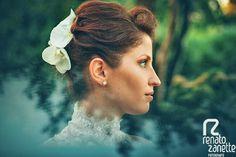bellissima acconciatura per la sposa, fine ed elgante - http://www.matrimonio.it/collezioni/acconciatura/
