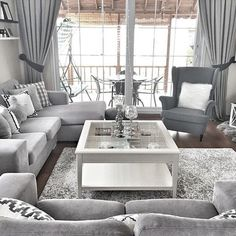 Most Beautiful Grey Living Room Decoration Ideas with Trendy Decor Check out tons of inspiring grey living room decoration ideas that will mesmerize you! Pick the best one and stye up your own living room now! Living Room Decor On A Budget, Living Room Grey, Home Living Room, Interior Design Living Room, Living Room Designs, Grey Living Room Furniture, Leather Living Room Set, New Interior Design, Best Interior