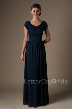 Modest Prom Dresses : June
