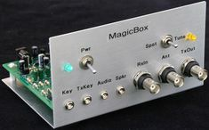 Four State is pleased to announce a new run of K8IQY's Magic Box. It provides seamless transceiving using separate transmitters and receivers, is extrememly user friendly, fully automatic, and completely silent in operation. It completely protects your receiver and is compatible with any receiver or transmitter up to 10 watts in power.