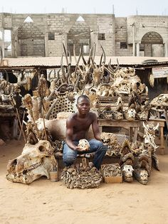 Sedrak by James Mollison | Akodessewa fetish market, Lomé, Togo, is said to be Africa's biggest voodoo market.