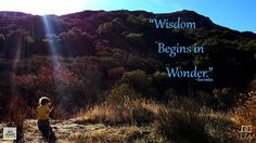 Inspirational Nature Quote - Socrates | www.MommyHiker.com