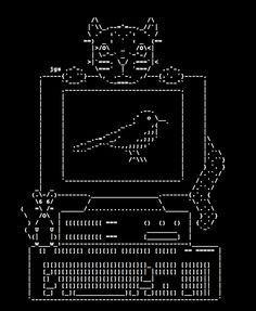 ASCII Cat Art