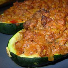 Bison Stuffed Zucchini – The Foodee Project