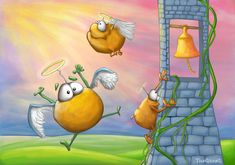 Potato angels by Tooshtoosh.deviantart.com on @deviantART