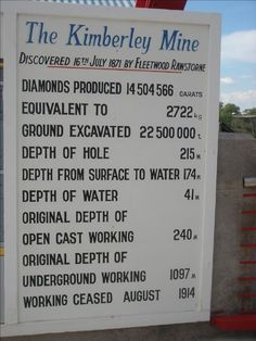 Big Hole Diamond Mine in Kimberley, South Africa, photo by Franklin Chalale Beaches In The World, Countries Of The World, Diamond Mines, Diamond City, Out Of Africa, My Land, My People, Western Australia, Holiday Destinations
