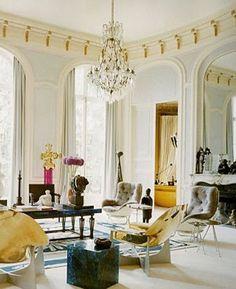 Paris apartment and Biarritz home