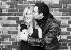 Jennifer Aniston and her new fiance!