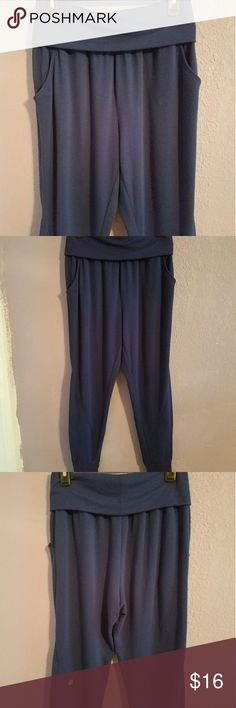 VSX Sport Jogger pants Cute and super comfy pants. Great for jogging or lounging around the house in. In great condition except for minor piling Victoria's Secret Pants Track Pants & Joggers