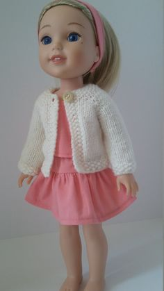 Check out this item in my Etsy shop https://www.etsy.com/ca/listing/461109242/145-doll-clothes-coral-skirt-and-top