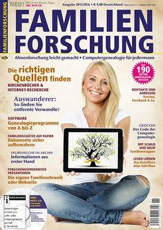 CG Sondermagazin Familienforschung 2015/2016