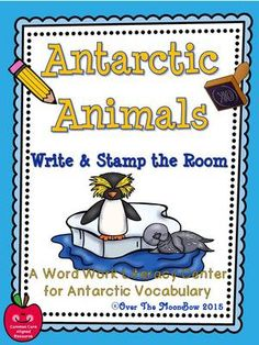 This fun, Antarctic animals themed activity pack will help your students practice reading, writing, & vocabulary! It's a perfect complement to your seasonal activities!