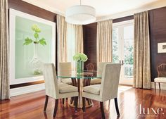 Lighting in this dining room: Catacaos Pendant | Boyd Lighting