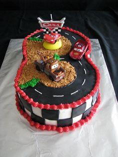 Hup Hup Hurra Cars Torte Zum Kindergeburtstag Cake Decorating