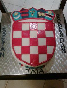 Cake Decor Flags : Happy Birthday in Croatian Nice Pinterest Homeland ...