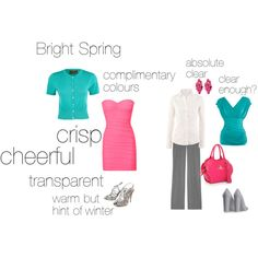"""Bright Spring - an excercise"" by silverwild on Polyvore"