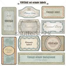 Resultado de imagem para etiquetas vintage para frascos