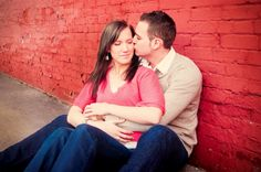 Engagement session, #Ingersoll Cute pose.
