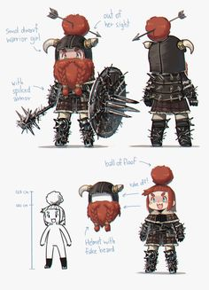 Adorable little Dwarf Girl Dungeons And Dragons Characters, D&d Dungeons And Dragons, Dnd Characters, Special Characters, Fantasy Characters, Character Creation, Fantasy Character Design, Character Concept, Character Art