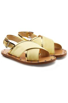 MARNI | Embellished Satin Sandals #Shoes #MARNI