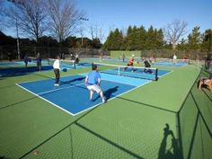 Raleigh opening first outdoor pickleball courts