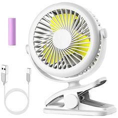 Stroller Fan, Cambond Clip on Battery Operated Fan, Personal Fan for Baby Stroller, Rechargeable 2200mAh Battery, 3 Adjustable Speeds for Baby Girl Carseat Office Travel Camping, White: Baby Stroller Fan, Personal Fan, Battery Operated, Baby Car Seats, Baby Strollers, Camping, Travel, Amazon, Pink
