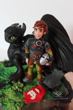 How To Train Your Dragon Cake - Cake by Dana Danila - CakesDecor