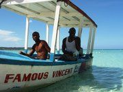 You must go snorkeling on Famous Vincent's glass bottom boat if you're in Negril! It's the best on the island!