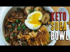Keto Asian Noodle Bowl - KetoConnect